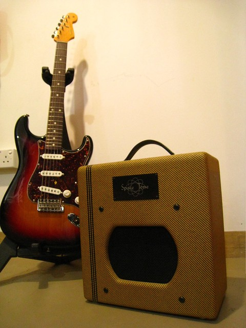swart space tone 6v6 a fender champ clone point to point w flickr. Black Bedroom Furniture Sets. Home Design Ideas