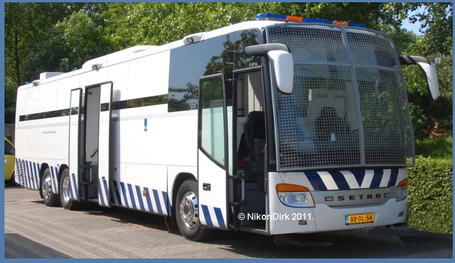 Dutch Prison Bus.