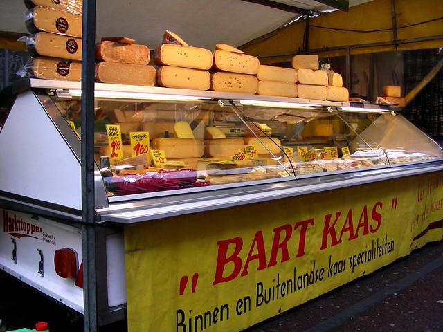 Dutch cheese shop in Amsterdam