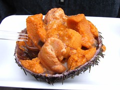 Sea urchin roe | by sigusr0