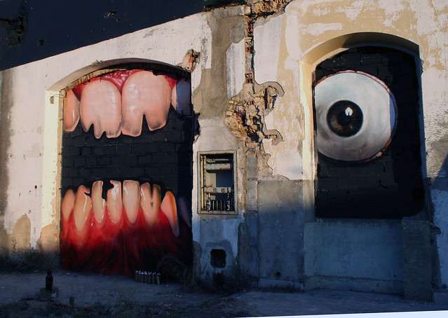 VSP Visual Street Performance 2007 @ Fabrica Braco de Prata, Lisbon, Portugal