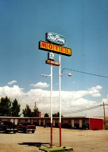 Big Piney Motel, Wyoming | by horstschrader