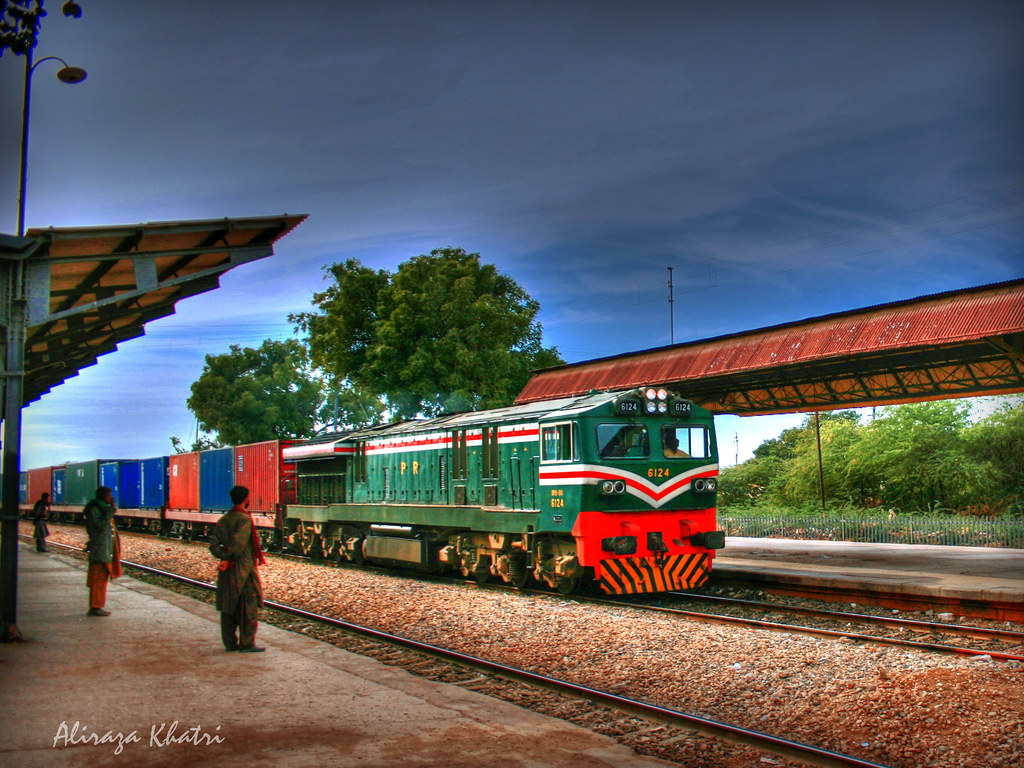 Pakistan Railway   Jung Shahi Railway station, Pakistan