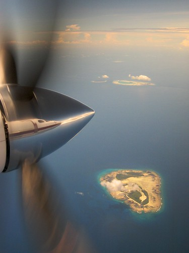 flying back from aldabra | by Olivier Roux