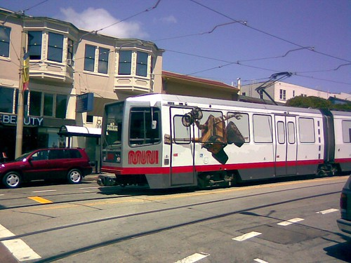Wall-E on the N! | by the N Judah chronicles