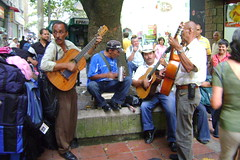 Street music in Medellin