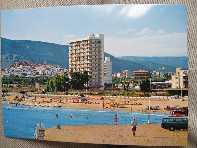Playa de la Concha en 1978