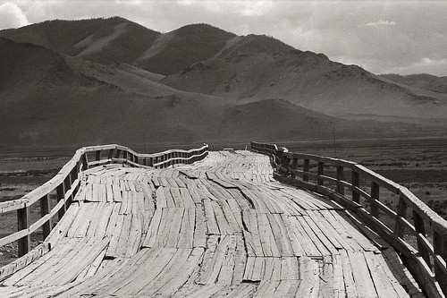 Bridge to nowhere..   by Jeff Bauche._.·´¯)