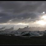 At Jökulsárlón with Breiðamerkurjökull in the background. Iceland