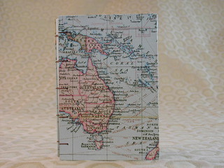 Pocket Sized Map Travel Journal