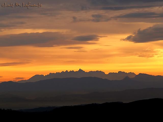 amanecer sobre Picos de Europa