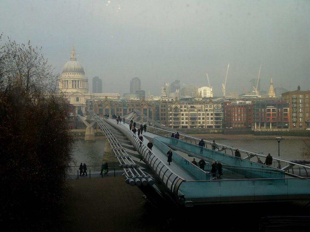 Millennium Bridge by Norman Foster