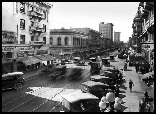 South First Street, San Jose, c.1920   by bennetthall