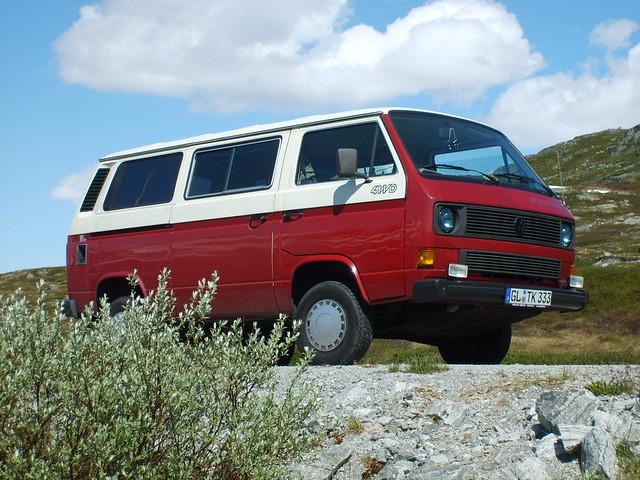 VW T3 14'' Syncro in Norwegen
