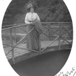 Hilda West on bridge 2