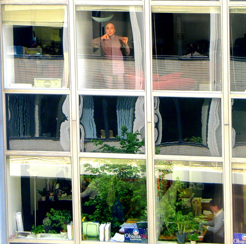 windows distortion washingtondc workers glare squares mstreet obama viewfrommyoffice reflectedtrees moviecutoutthing