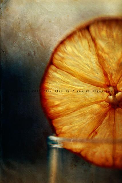 Lemon (Grunge Art Work)