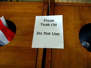 22-365  1/22/08 - Fresh Teak Oil