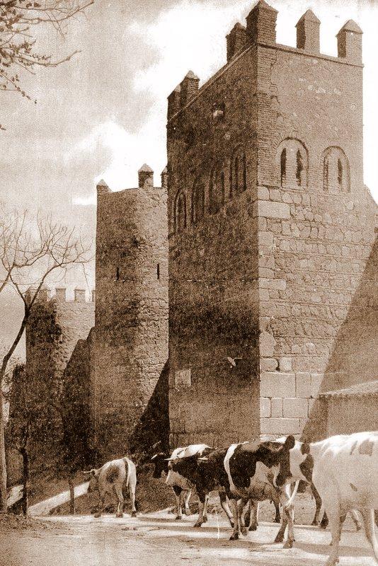Torres de la Reina, Toledo, hacia 1922. Foto Clavería