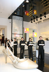 Store front of the New Chanel Boutique Opening and Charity Event hosted by Simply Consistent Inc.