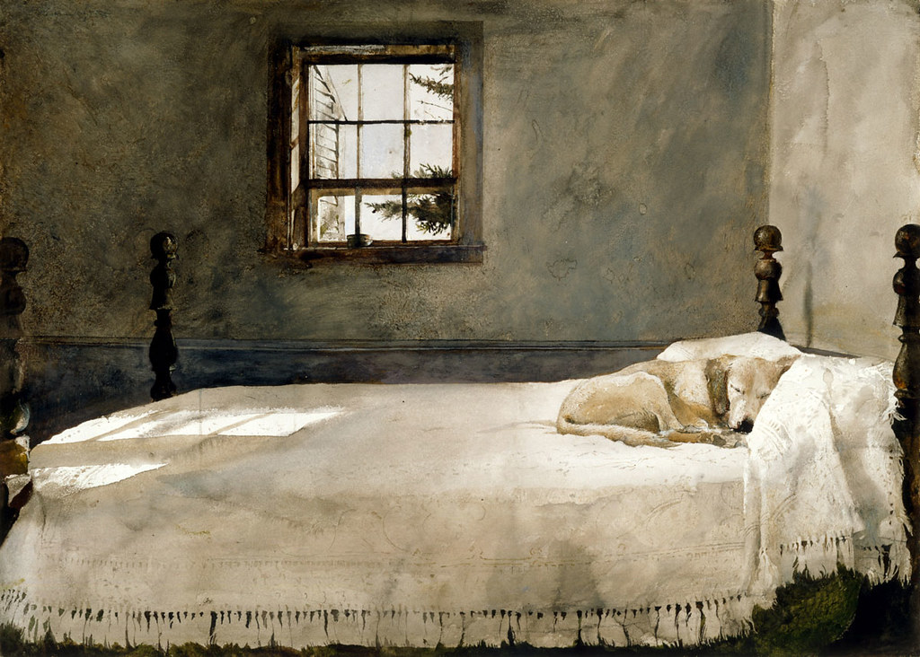 You see Andrew Wyeth. I see \
