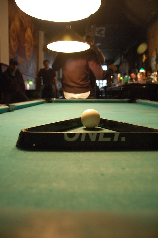 1020 Bar Fight, Pool Table Shot