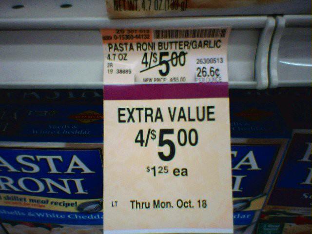 No Extra Value