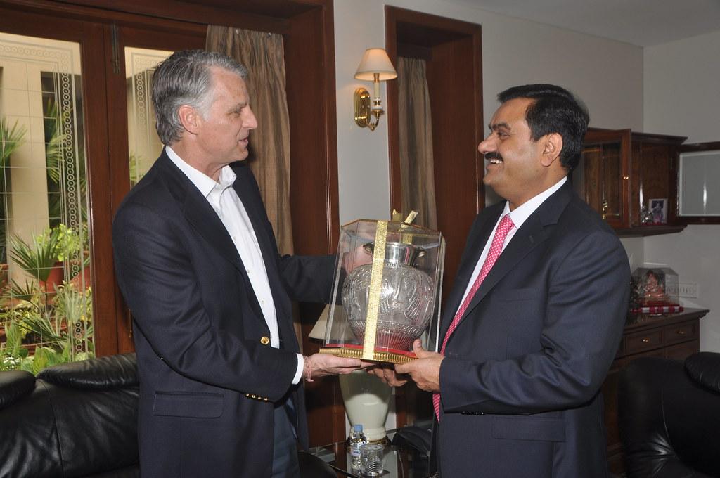 Ambassador Roemer visits Ahmedabad