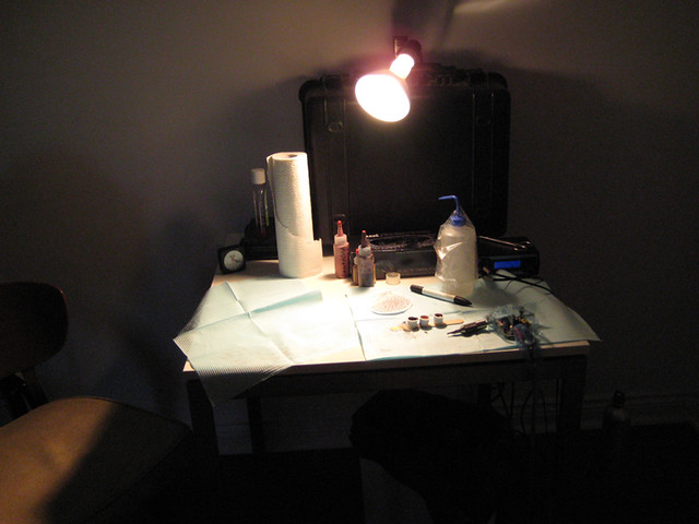 tattoo setup | Mary-Ann Alberga | Flickr
