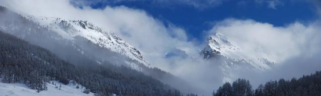Ceillac, après une chute de  neige / Ceillac after the snow