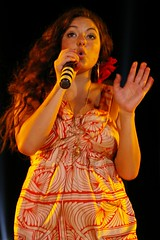 "Stacie Orrico live in Phnom Penh Cambodia the ""qb goes LIVE"" concert"