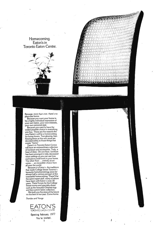 gm 1977-01-13 eatons ad