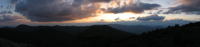 Black Balsam Knob @ Sunset
