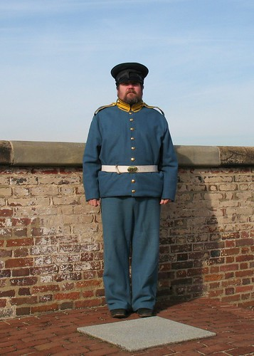 Fort Washington Uniformed Reenactor | by Mr.TinDC
