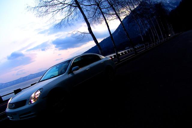 Beloved vehicle @ lake SHIKOTSU(1)