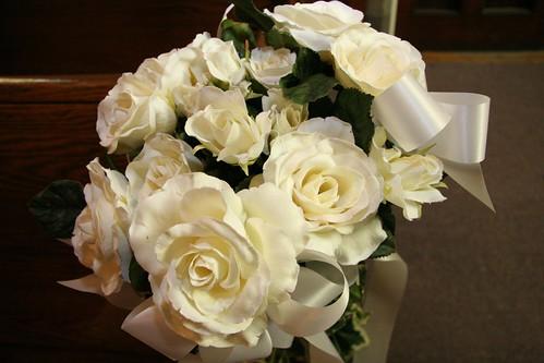 Wedding flowers in the Church | by balleyne