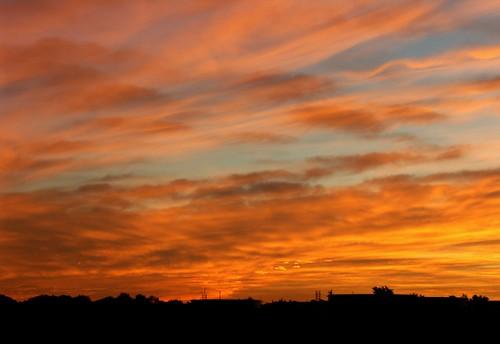 ohio sky clouds landsape oregonohio