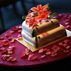 Previous: Floral Wedding Cake