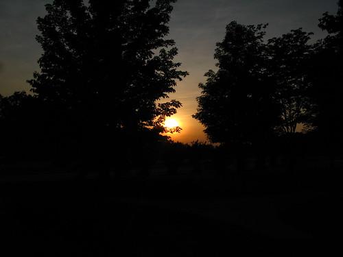 sunset evening picnic g7 may24th2008 appalachianfoothillsparkway