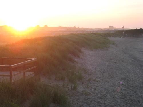 montauk sunrise   by faux_teak