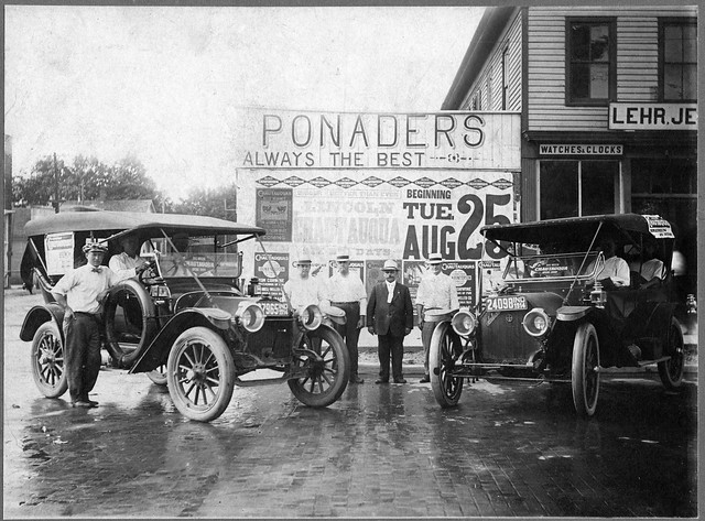 1915 - Pepple auto sales - restored