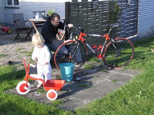 Bicycle wash