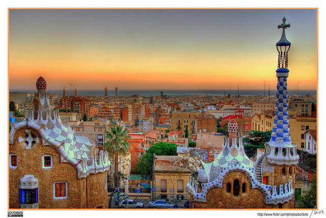 The last sunray - Barcelona