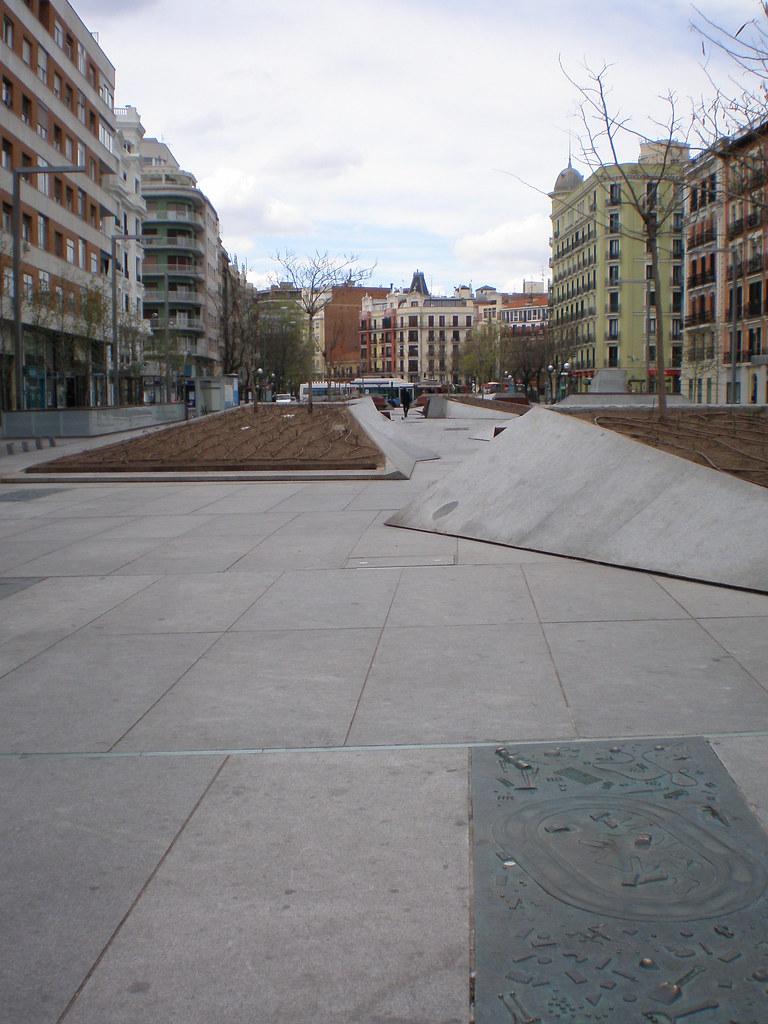 Plaza De Dali Madrid Plaza De Dali Madrid Flickr