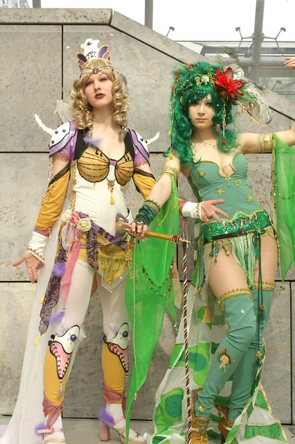 Rosa Farrell + Rydia of the Mist, Final Fantasy IV