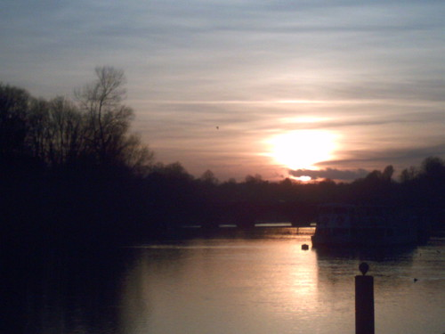 Sunset in Chester