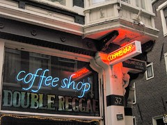 Coffeeshop Double Reggae - Amsterdam - may 2007