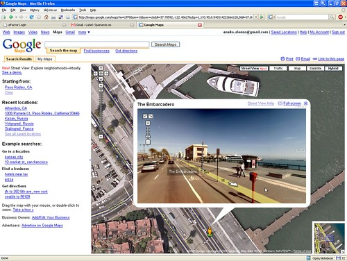 GoogleMaps Street View - Synchronized with satellite? | by Eneko Alonso