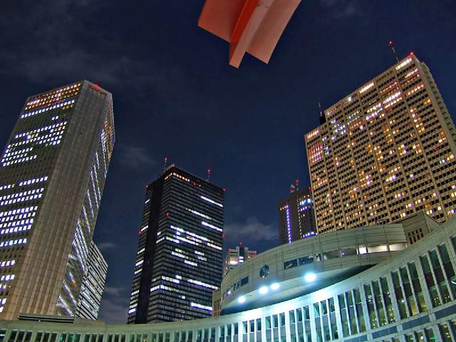 Lighting in Shinjuku
