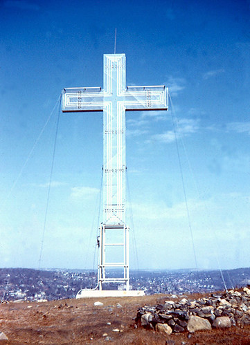 Original Peace Cross on Pine Hill (1956) - Waterbury, CT | by RoadTripMemories